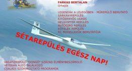 1. Baracs-Kisapostag Repülőnap program – jún. 23.