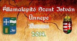 Államalapító Szent István Ünnepe – Augusztus 20.