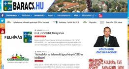 Új felület a baracs.hu oldalon