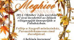 Idősek világnapja – október 1.