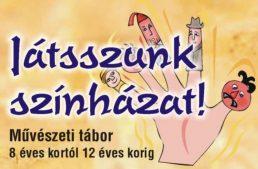 A Bartók Kamraszínház művészeti tábort hirdet június 18-tól június 23-ig