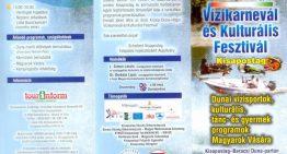 I. Közép-Dunavölgyi Vízikarnevál és Kulturális Fesztivál