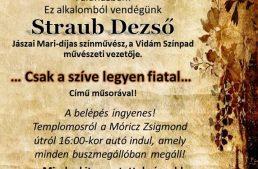 Idősek világnapja Straub Dezsővel