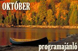 Októberi programajánló