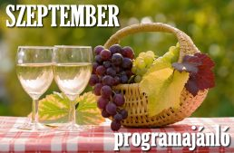 Helló szeptember! – programajánló