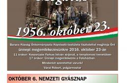 Baracsi Szó – 2016. október