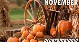 Novemberi programajánló
