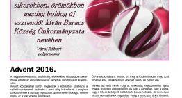 Baracsi Szó – 2016. december