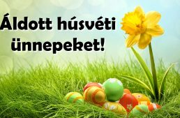 Áldott húsvétot kívánunk