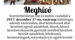 Adventi vásár, falukarácsony