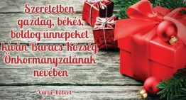Áldott karácsonyt, boldog új évet!