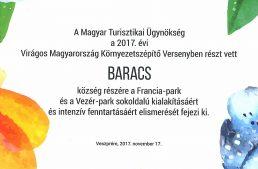 Virágos Magyarország Környezetszépítő verseny eredmény