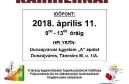 ÁLLÁSBÖRZE-KARRIERNAP részletes program