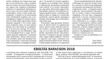Baracsi Szó – 2018 május