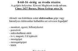 Elektronikai hulladékgyűjtés