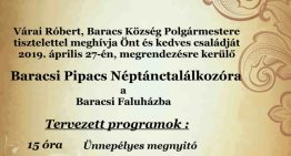 Baracsi Pipacs Néptánctalálkozó