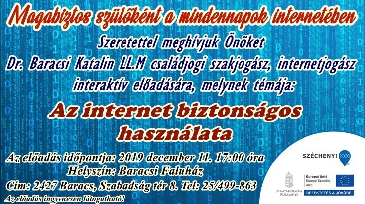 Az internet biztonságos használata