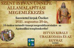 Szent István ünnepe